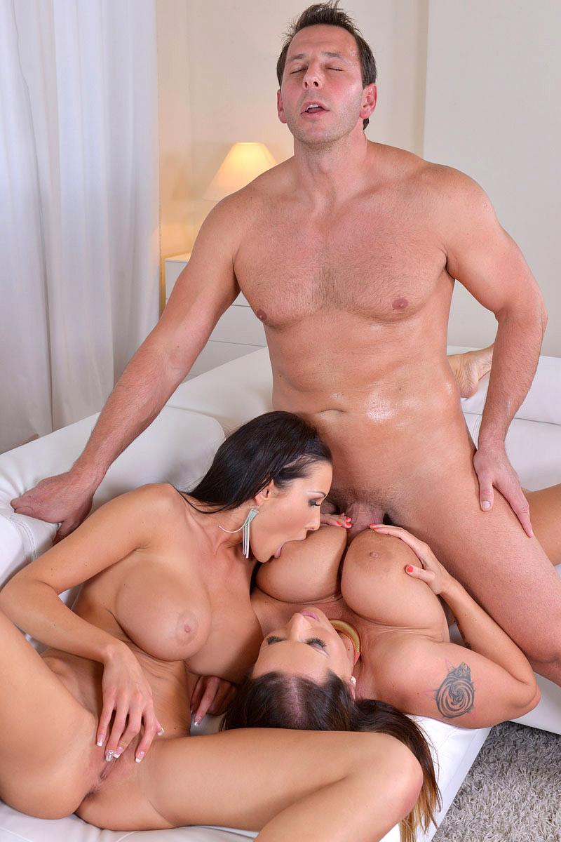 Big Tits Big Ass Milf Threesome
